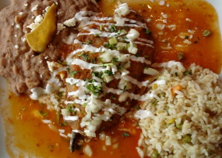 Chile Relleno at El Centro