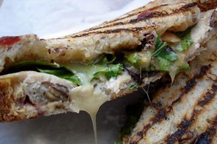 Creme de la Crumb Turkey Sandwich