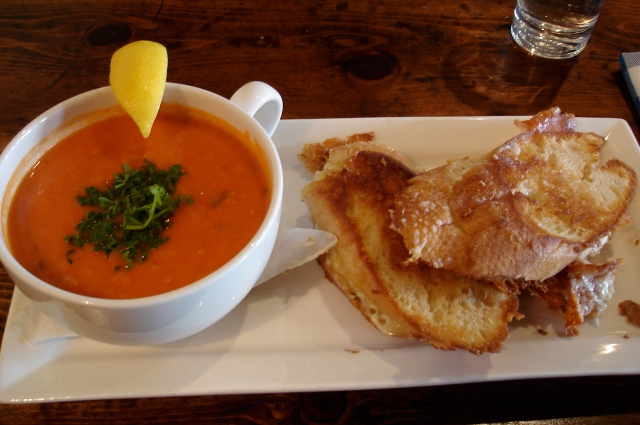 Soup and Sandwich at Burgoo