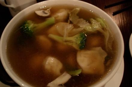 Panz Veggie Wonton Soup