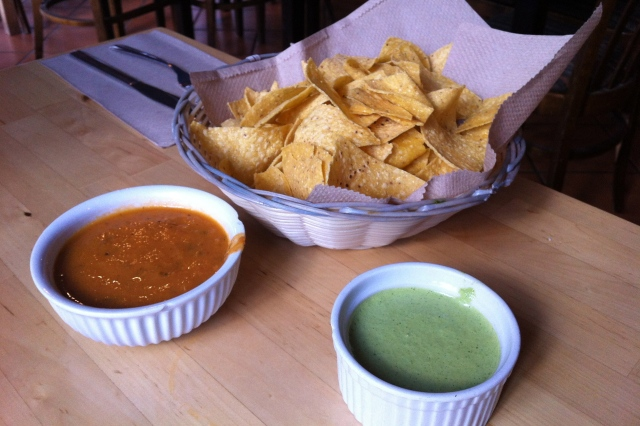 La Casita chips and salsa