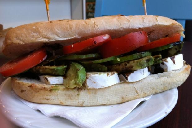 Bonchaz Bakery Avocado & Brie Sandwich 2